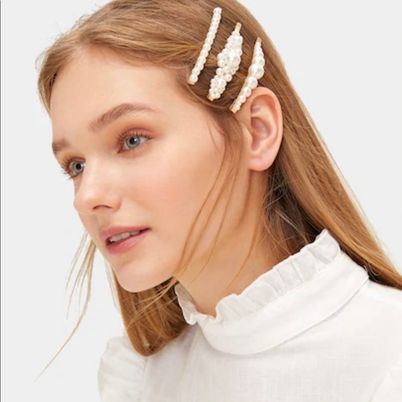 097650f3c Accessories | Faux Pearl Decor Hair Pin 3 Pack | Poshmark